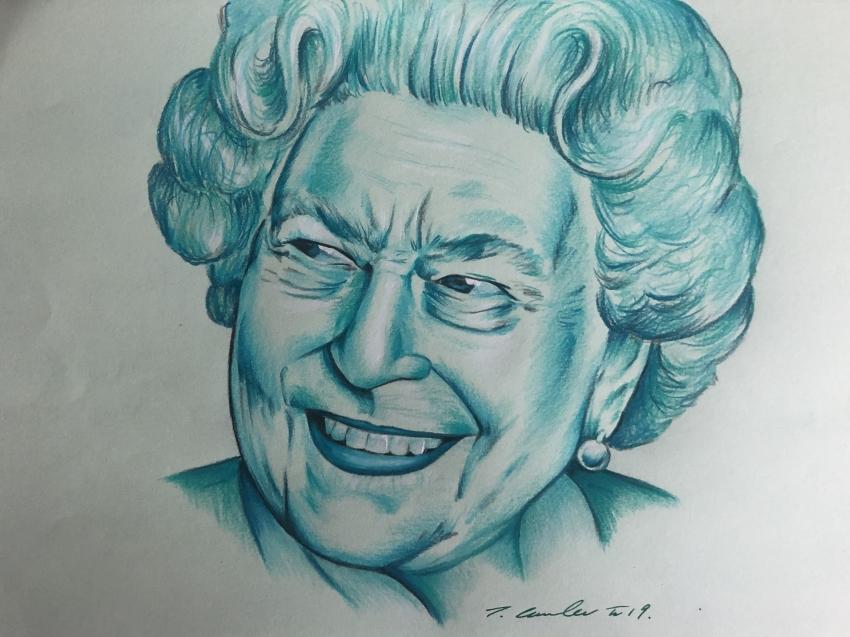 Elizabeth II por TraceyLawler